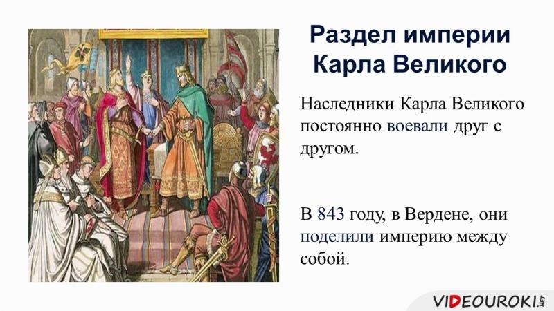 04. Возникновение и распад империи Карла Великого. Феодальная раздробленность