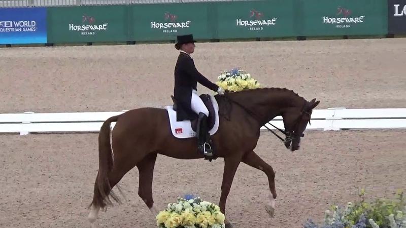 Isabell Werth Bella Rose_WEG Tryon Grand Prix Special 2018