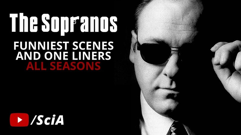 The Sopranos - Funniest Scenes One Liners (LookLaugh)