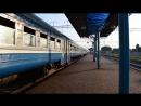 ДР1П-085 проходит по станции Барановичи-Центральные
