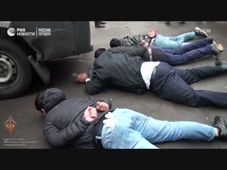Задержание боевиков ИГ, готовивших теракты в Москве