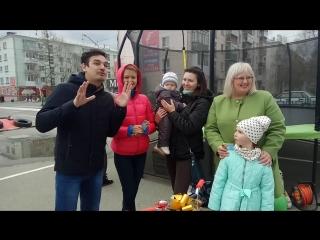 Сегодня 2 июня в 12 00 на территории ТЦ Столичный состоялось торжественное мероприятие от магазина детских товаров Беби Ленд