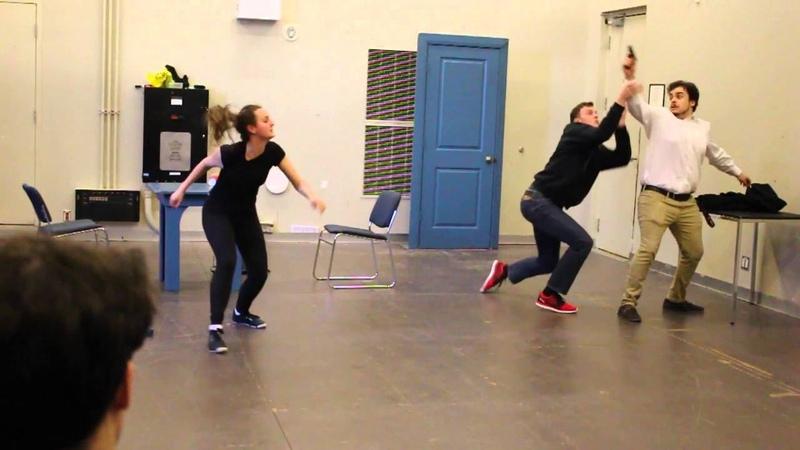 Stage Combat GB 2016 Emma and Jamie