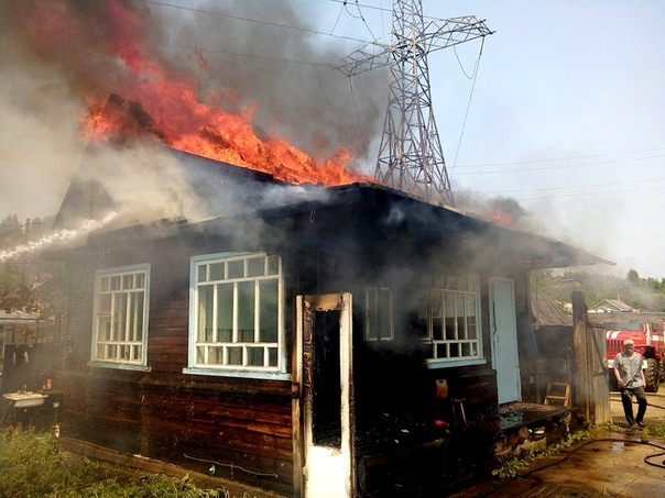 Пожар 29 июня в СДК «Коммунальник»