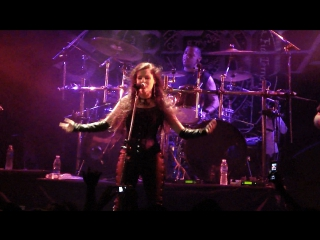 Sirenia - Led Astray - Sister Nightfall - The other Side - Live in Argentina – 2010 (Symphonic Metal, Gothic Metal)