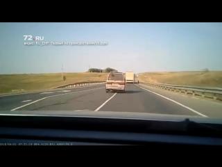 Toyota с тюменскими номерами попала в ДТП в Самарской области