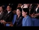 ТВ КНДР Ким Чжон Сук посетила разные места г Пхеньяна вместе с Ли Соль Чжу КОРЕЙСКИЙ
