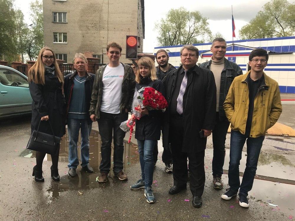 Руководитель Штаба Навального в Томске Ксения Фадеева вышла на свободу