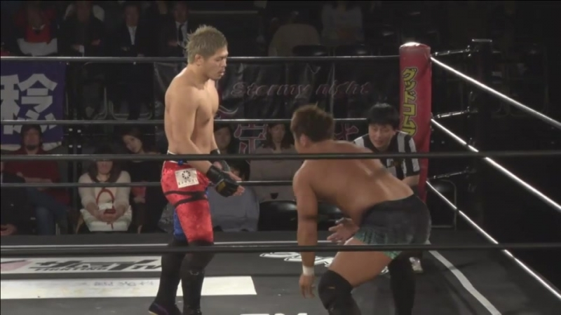 Keisuke Okuda vs Kouki Iwasaki DDT DNA 41 Valentine Special