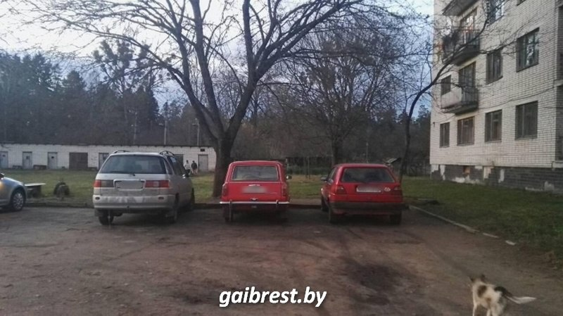 В Барановичском районе по вине бесправника пострадал ребенок-пассажир