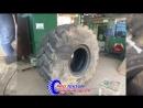 Ремонт R26 колеса от погрузчика, тяжеловеса Вольво