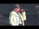 Guns NRoses You Could Be Mine live at Download Festival 2018
