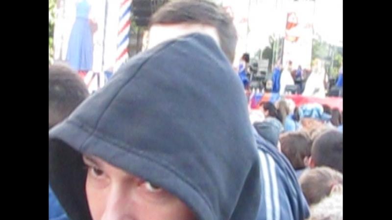 23.06.18 Площадь Суворова .Антона грозились побить .Принято было оперативное решение красиво уйти