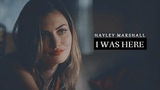 Hayley Marshall I I Was Here 5x06