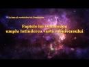 Faptele lui Dumnezeu umplu întinderea vastă a Universului Cele mai frumoase cantari crestine