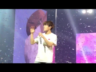 he really picked a fight with confetti