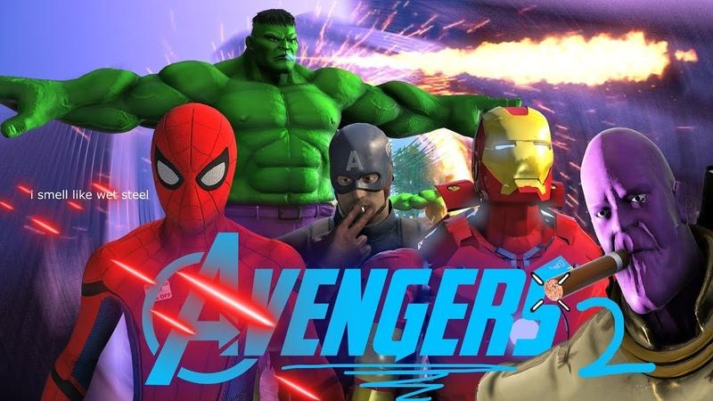 Avengers Infinity War 2 Final Battle (sad)