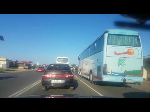 Новый перекресток Феодосия переезд и дорога в Приморский