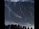 Новый мировой рекорд по самой большой волне в 80 футов