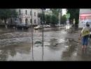 Воронеж ливень Переход требует паромную переправу