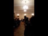 Кудельская Василиса,концерт в зале им.Е.Образцовой 16 декабря 2017г.