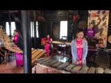 Вьетнамские инструменты. Вьетнамская музыка. Нячанг, 2017. Мыс камней.