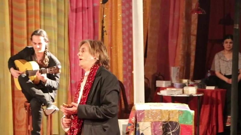 Nilda FERNANDEZ - 4 - concierto Federico GARCIA LORCA -circo ROMANES Paris 07-04 (1)