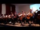 И. С. Бах. Менуэт. Карулли. Алегретто. Исполняет ансамбль гитаристов «Звонкие струны». Руководитель Кахидзе О. Н.