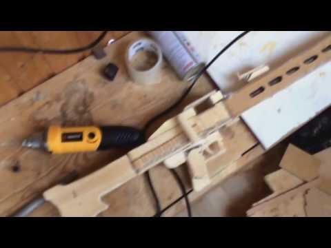 Как сделать MG42 из дерева
