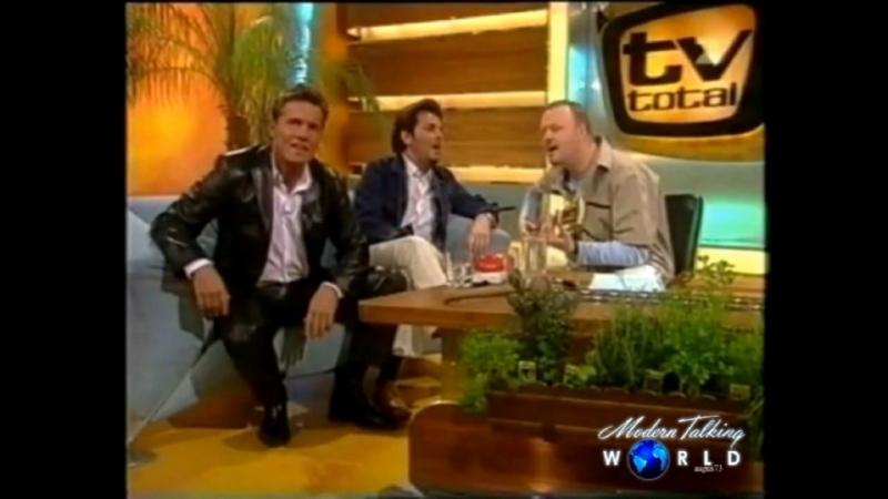 Modern Talking bei Stefan Raab /2002/MTW