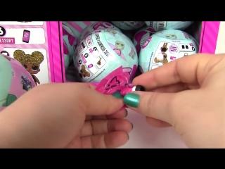 Кукла ЛОЛ в шаре - подарок для девочек, обзор