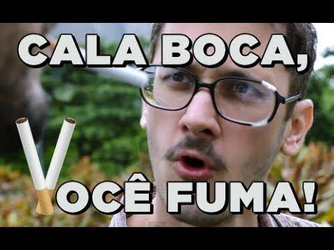 CALA A BOCA, VOCÊ FUMA! - AMADA FOCA