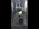 Михаил Зотин - Становая тяга 130 кг *6