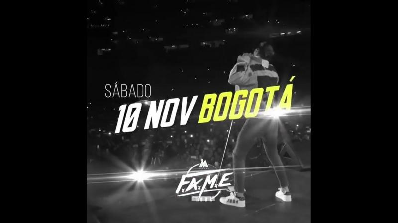 No se pueden perder esto 🔥 FAMETour llega a Bogota!!