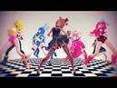 анимация Красивый танец MMD X FNAF