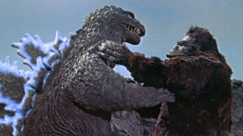 Kingu Kongu Tai Gojira? 1962 / King Kong vs Godzilla / Кинг Конг против Годзиллы (rus)