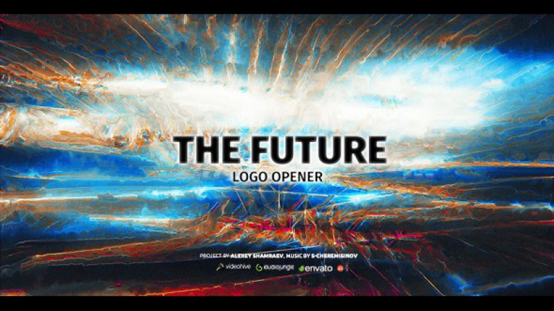 Glitch Logo Opener | The Future