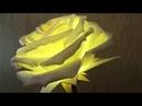 14. Роза-светильник из изолона. Часть 2