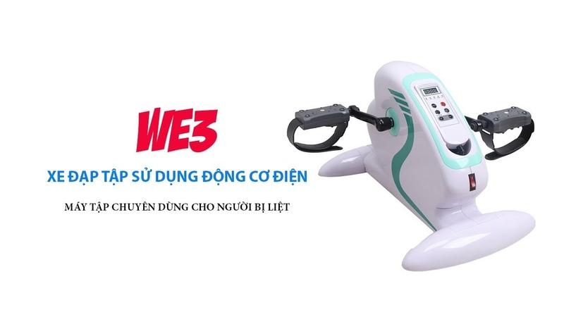 Xe đạp tập vật lý trị liệu WE3 phục hồi chức năng vận động cho người bị liệt