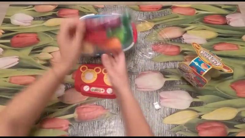 Набор посудки и овощей