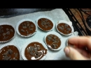 Домашние мафины с шоколадом. Готовлю сладости на детский стол в честь дня рождения дочки.