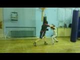 Александра и Иван. Тренировка по БОКСУ