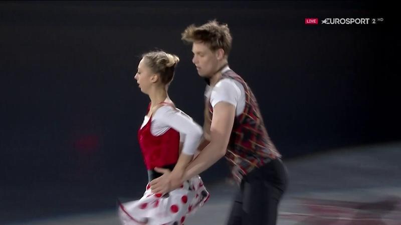 Aleksandra Boikova / Dmitrii Kozlovskii 2018 Skate Canada EX