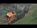 Прохождение карты «Подъём на холм» в игре SpinTires 03.03.16 серия 1