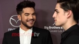 MaximoTV on Instagram Exclusive video Adam Lambert walks the red carpet at the annual Big Brothers Big Sisters of Greater Los Angeles Big Bash...