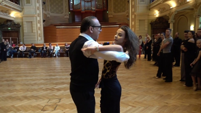 THE CAMP 2018 Ballroom Group Lesson on Speed in Tango by Fabio Selmi
