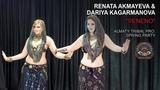 RENATA AKMAYEVA &amp DARYA KAGARMANOVA Veneno Tribal PRO. Almaty Spring Party