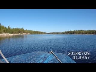 Байдарки на озере