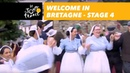 Welcome in Bretagne Stage 4 Tour de France 2018
