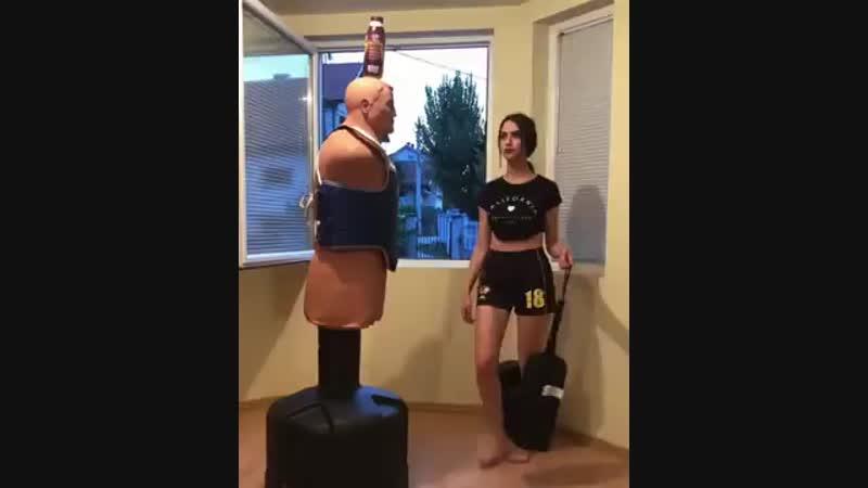 С такой женой лучше не ссориться